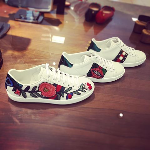 Image result for gucci ace embroidered sneakers